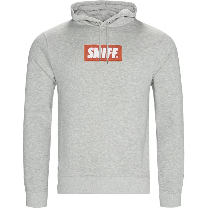 Force Hoodie - Sweatshirts - Regular - Grå
